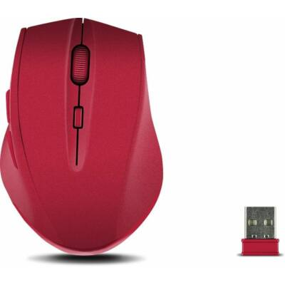 Speedlink Calado Silent Wireless mouse Rubber Red