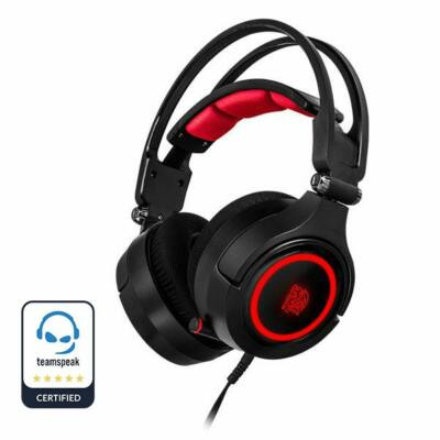 Thermaltake TT eSports Cronos Riing RGB 7.1 Gaming Headset Black
