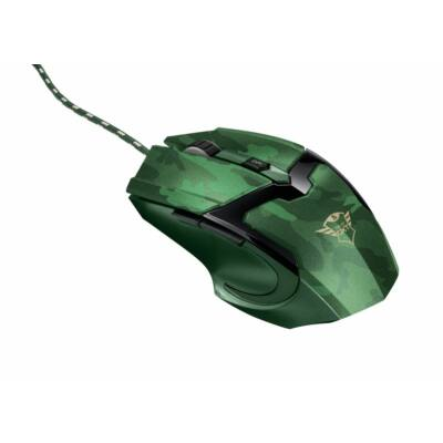 Trust GXT 101D Gav Optical Gaming mouse Jungle Camo