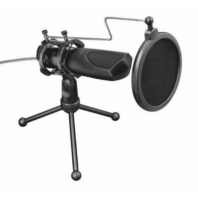 Trust GXT 232 Mantis Streaming Microphone Black