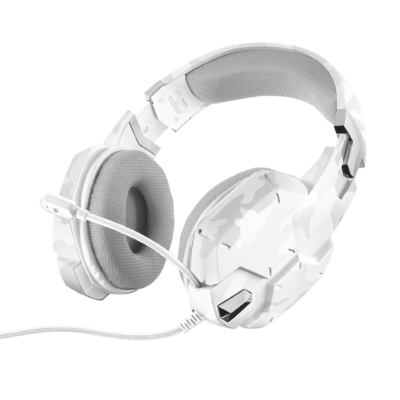 Trust GXT 322 Dynamic Gamer Headset White Camouflage