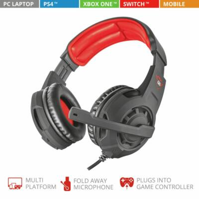 Trust GXT 4310 Jaww Gaming Headset Black