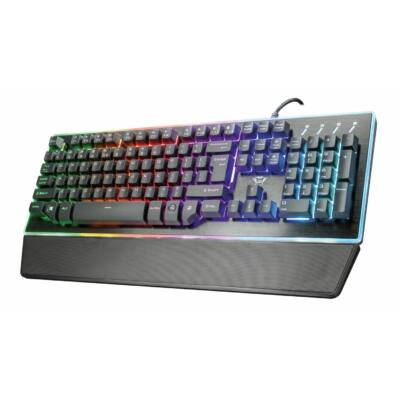 Trust GXT 860 Thura Semi-mechanical Keyboard Black UK