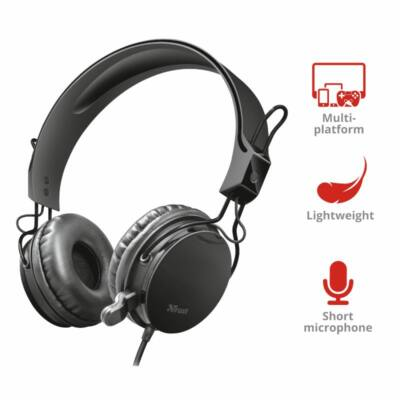 Trust Muro All-round Headset Black
