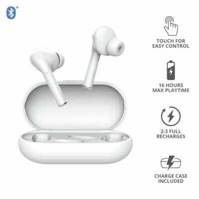 Trust Nika Touch Bluetooth Wireless Headset White