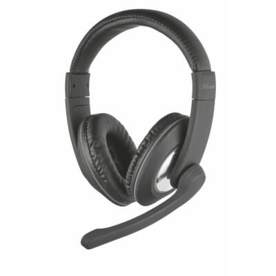 Trust Reno Headset for PC and laptop Black
