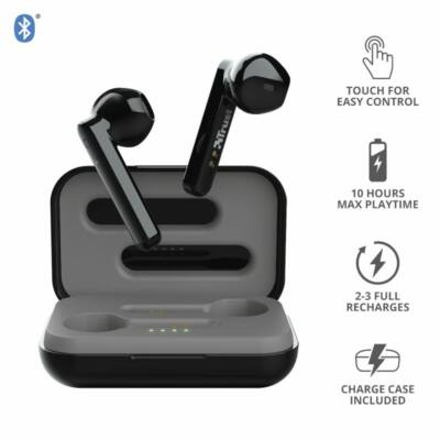 Trust Primo Touch Bluetooth Wireless Headset Black