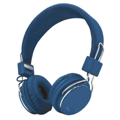 Trust Ziva Foldable Headset Blue